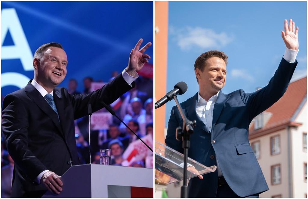 Andrzej Duda i Rafał Trzaskowski – fot. Facebook
