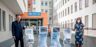 Nowy sprzęt trafił do sosnowieckiego szpitala – fot. UM Sosnowiec