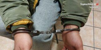 Domowy oprawca trafił do aresztu - fot. KMP w Sosnowcu