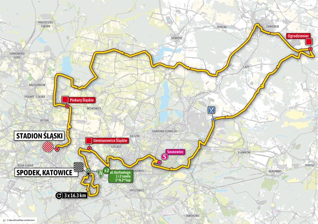 Pierwszy etap Tour de Pologne 2020 – fot. mat. pras.