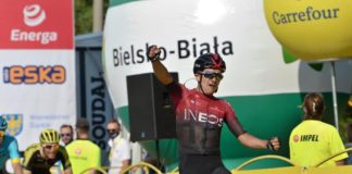 Richard Carapaz zwycięzcą trzeciego etapu 77. Tour de Pologne 2020 – fot. Szymon Gruchalski