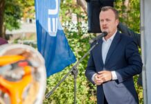 Prezydent Sosnowca Arkadiusz Chęciński - fot. Maciej Łydek/UM Sosnowiec
