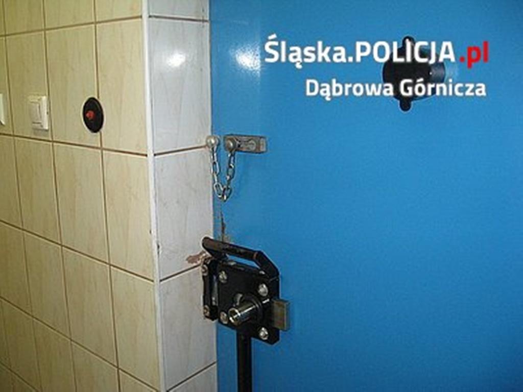 Zatrzymany - fot. KMP w Dąbrowie Górniczej
