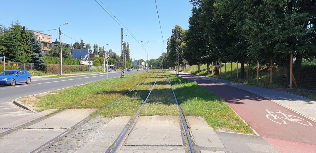 Torowisko przy Andersa w Sosnowcu – fot. UM Sosnowiec