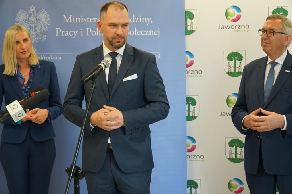 Łukasz Curyło, dyrektor PUP w Jaworznie – fot. UM Jaworzno
