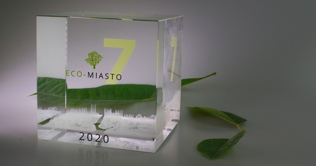 Jaworzno w gronie laureatów konkursu Eco-Miasto 2020 – fot. mat. pras.