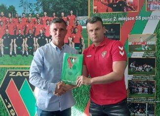 Robert Podoliński i Marcin Jaroszewski – fot. zaglebie.eu